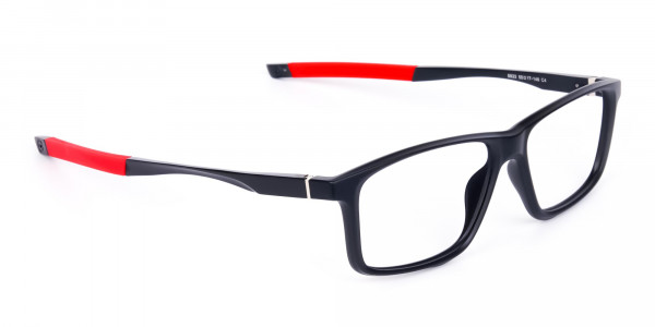 Black-and-Red-Sports-Glasses-in-Rectangle-Shape-2
