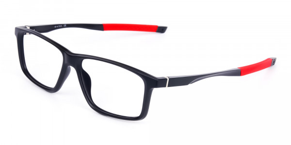 Black-and-Red-Sports-Glasses-in-Rectangle-Shape-3
