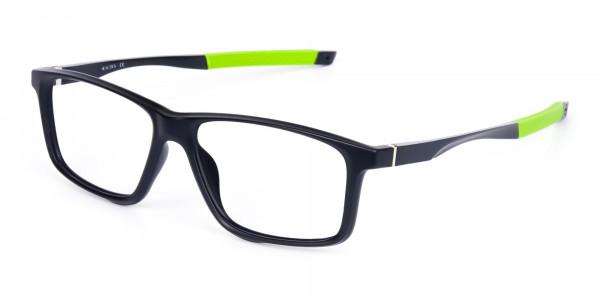 Black-Green-Rectangular-Rimmed-Glasses-3