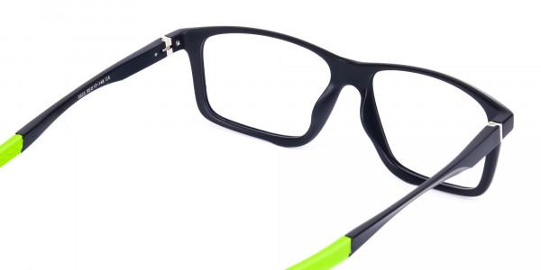 Black-Green-Rectangular-Rimmed-Glasses-5
