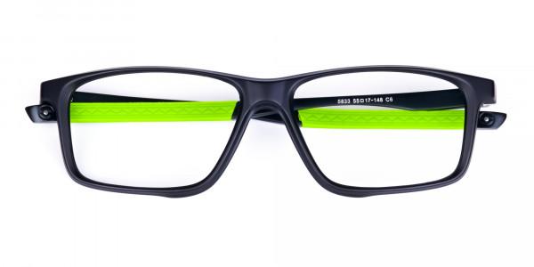 Black-Green-Rectangular-Rimmed-Glasses-6
