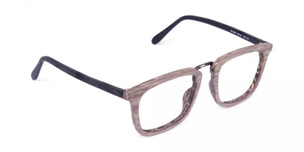 Wooden-Texture-Walnut-Brown-Rim-Glasses-2