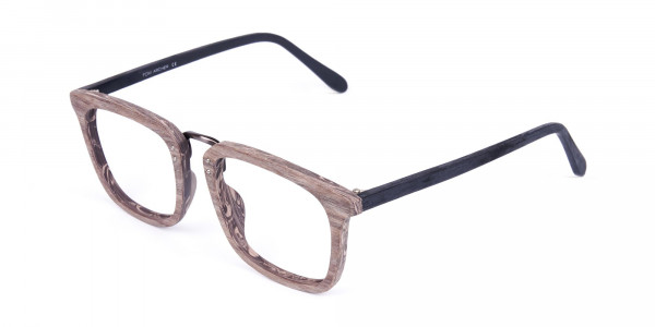 Wooden-Texture-Walnut-Brown-Rim-Glasses-3
