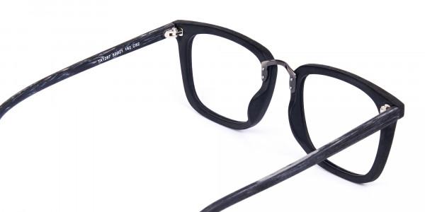 Wooden-Texture-Black-Square-Glasses-5