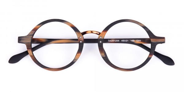 Tortoise-Round-Full-Rim-Wooden-Glasses-6