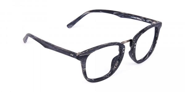 Wooden-Texture-Stripe-Grey-Rim-Glasses-2