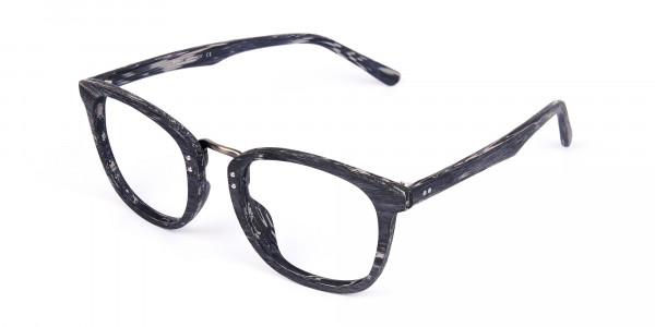 Wooden-Texture-Stripe-Grey-Rim-Glasses-3