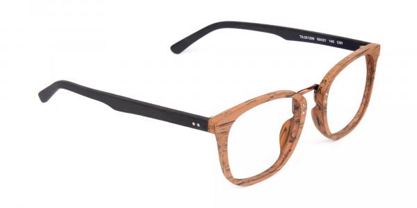 Wooden-Texture-Elm-Brown-Rim-Glasses-2
