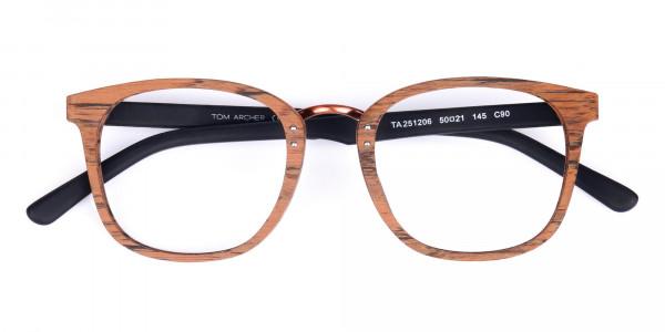 Wooden-Texture-Elm-Brown-Rim-Glasses-6
