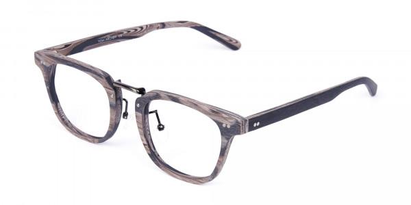 Stripe-Grey-Full-Rim-Wooden-Glasses-3