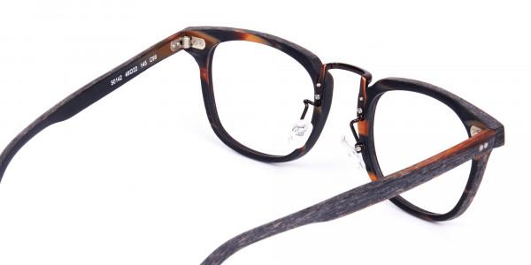 Tortoise-Square-Full-Rim-Wooden-Glasses-5