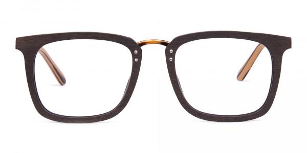 Brown-Square-Wooden-Glasses-Frame-1