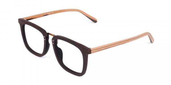 Brown-Square-Wooden-Glasses-Frame-3