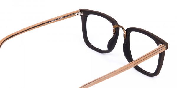 Brown-Square-Wooden-Glasses-Frame-5