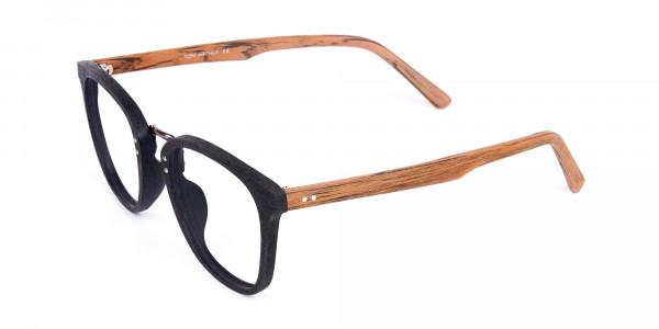 Wooden-Texture-Black-Full-Rim-Glasses-3