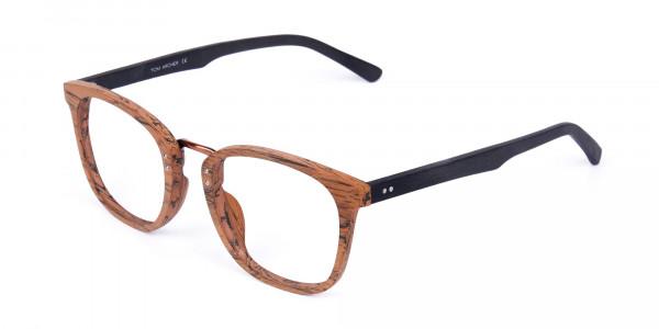 Wooden-Texture-Elm-Brown-Rim-Glasses-3