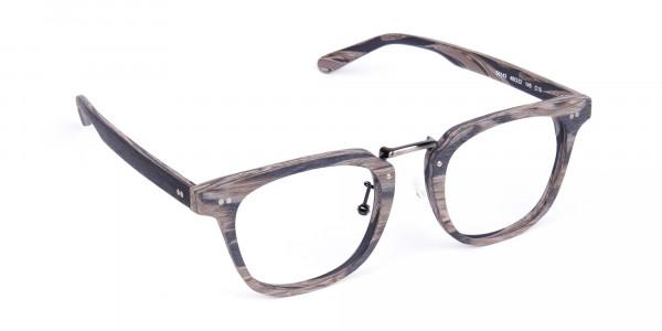 Stripe-Grey-Full-Rim-Wooden-Glasses-2