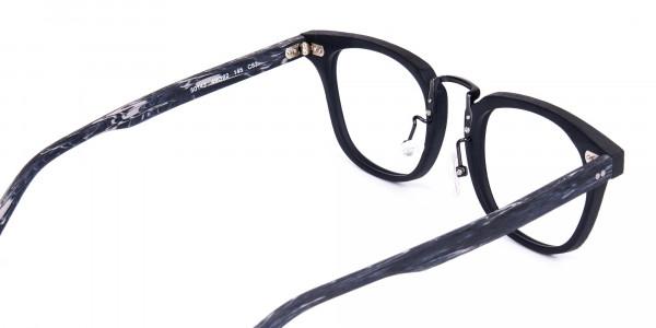 Black-Square-Full-Rim-Wooden-Glasses-5