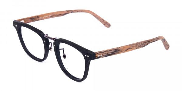 Brown-and-Black-Full-Rim-Wooden-Glasses-3
