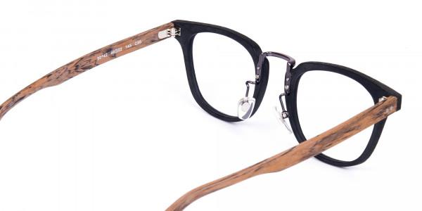 Brown-and-Black-Full-Rim-Wooden-Glasses-5