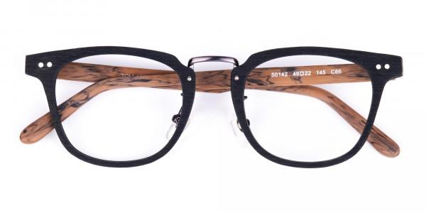 Brown-and-Black-Full-Rim-Wooden-Glasses-6