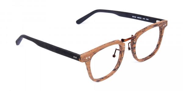 Brown-Black-Full-Rim-Wooden-Glasses-2