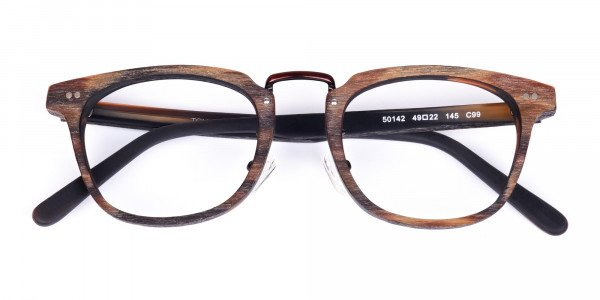 Tortoise-Square-Full-Rim-Wooden-Glasses-6