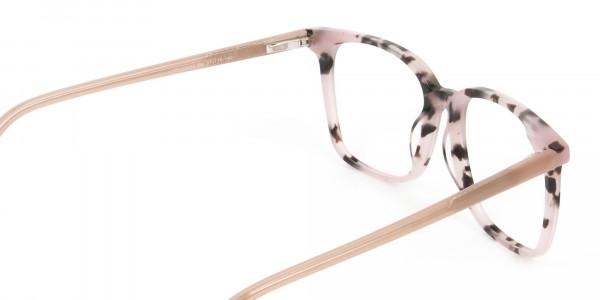 Wayfarer & Square Nude Tortoise Glasses - 5
