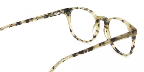 Keyhole Marzipan Tortoise Eyeglasses in Wayfarer - 5