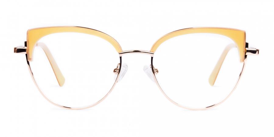 rose gold blue light glasses