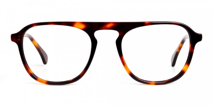 tortoise shell wayfarer aviator full rim glasses frames