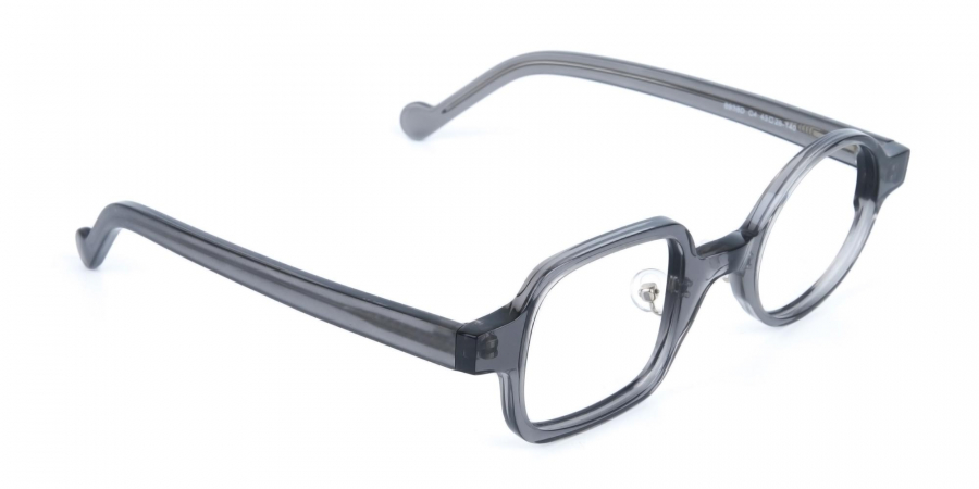Asymmetric Round and Square Eyeglasses