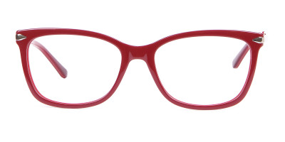 Woman Rectangular Glasses Neutral Design UK