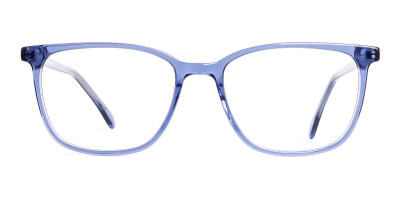 Dark Blue wayfarer Rectangular Glasses Frames