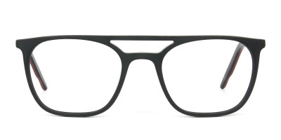 Matte Black Aviator Spectacles
