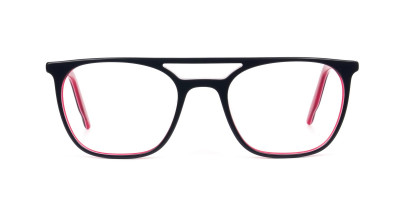 Red & Navy Blue Aviator Spectacles