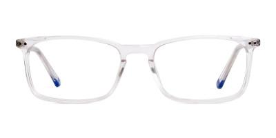 transparent glasses frames rectangular shape frames