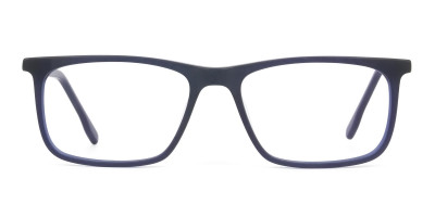 Green & Matte Navy Blue Spectacles