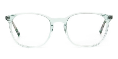 Teal Crysral Green Glasses in Wayfarer