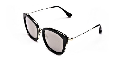 Sunglasses Black & Gold