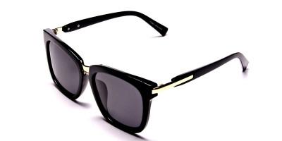 Women's Fashion Black Wayfarer Sunglasses