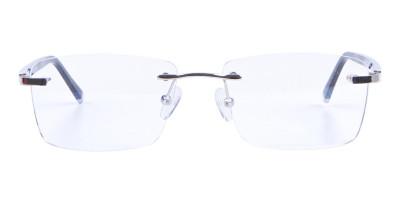 Silver Rimless Frame Ultralight, Online UK