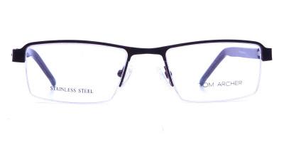 Red Rectangular Glasses, Eyeglass