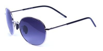 Silver Sunglasses Round Frames