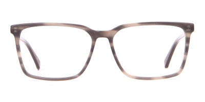 TED BAKER TB8209 ROWE Rectangular Glasses Grey Tortoise