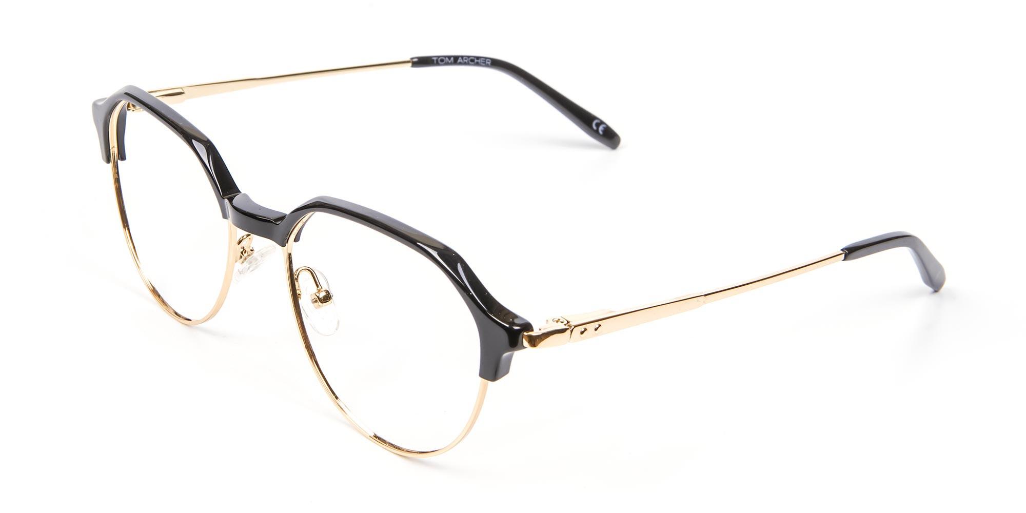 Fresh Look Octagon Glasses - 3