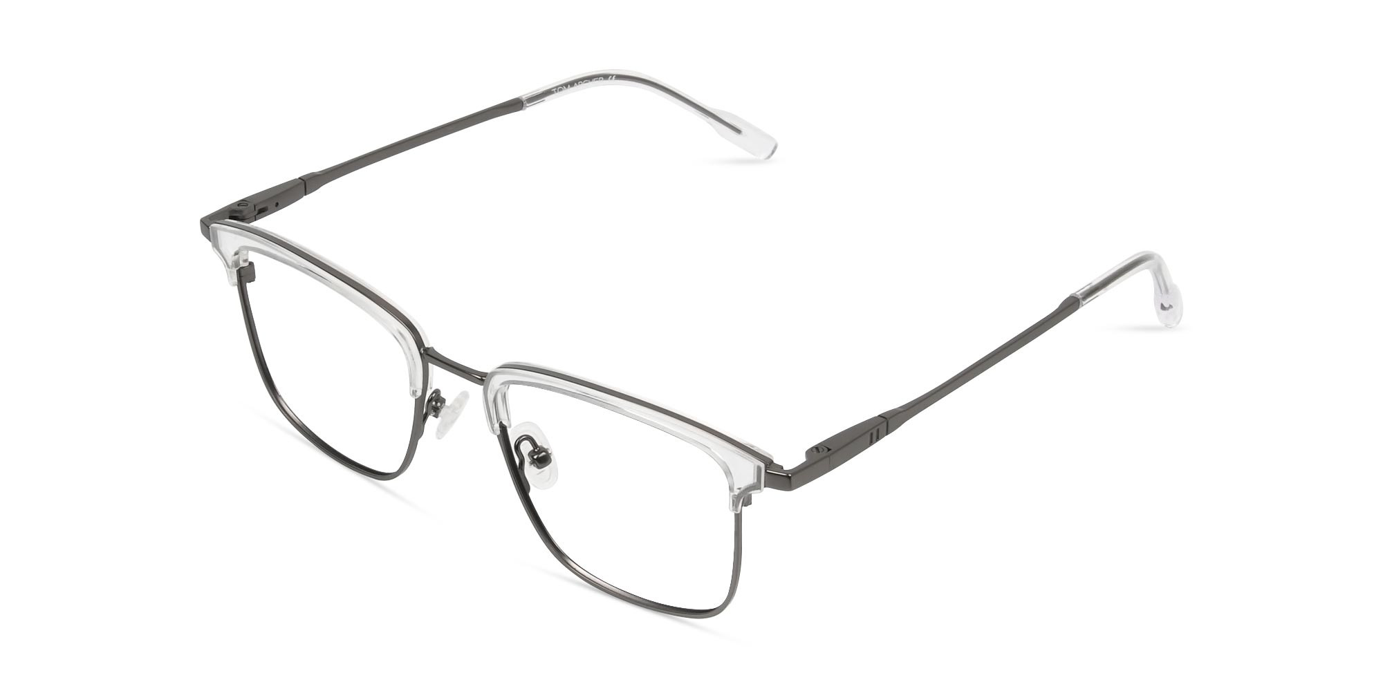 Transparent and Gunmetal Frames in Metal - 3