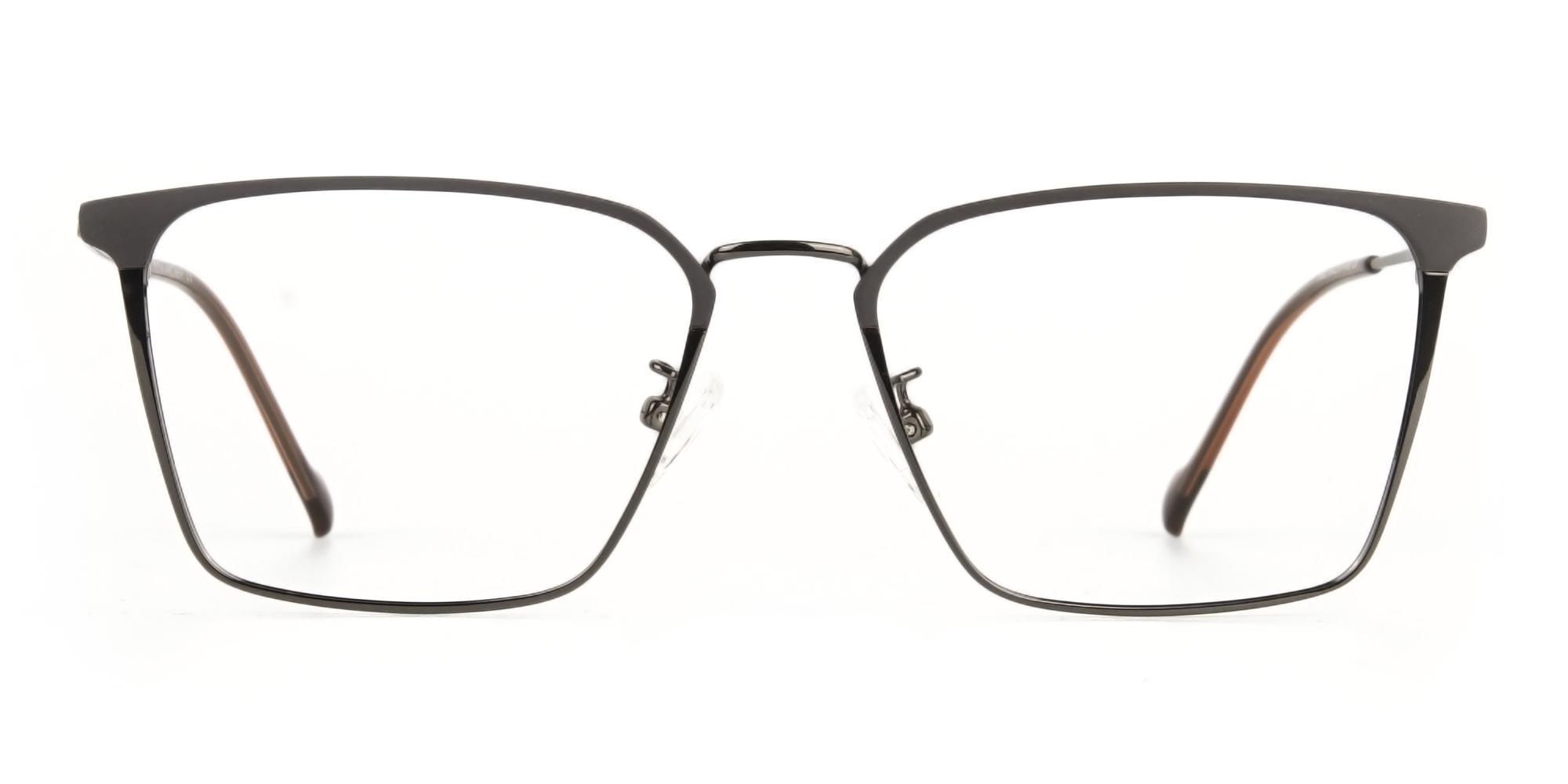 Lightweight Glasses in Subtle Gunmetal Wayfarer