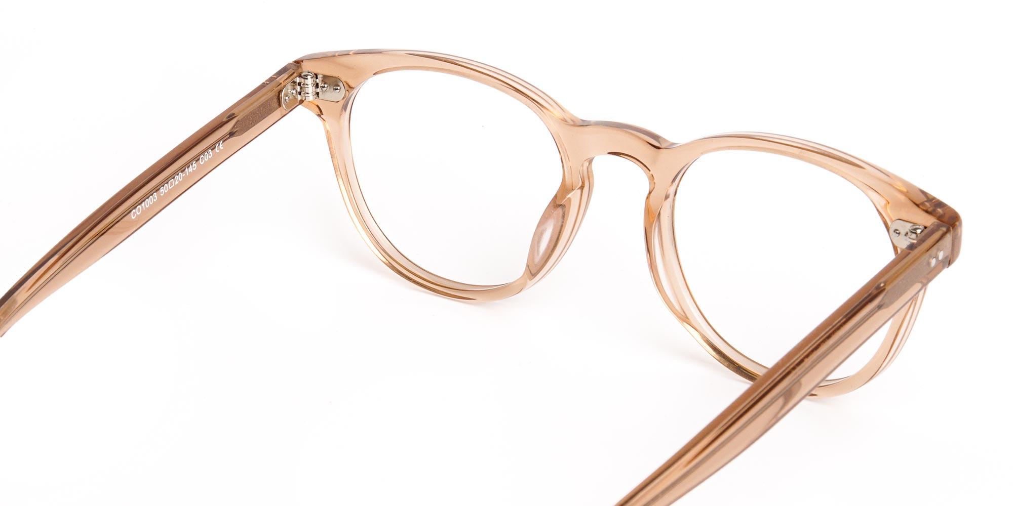 full-rim-brown-transparent-glasses