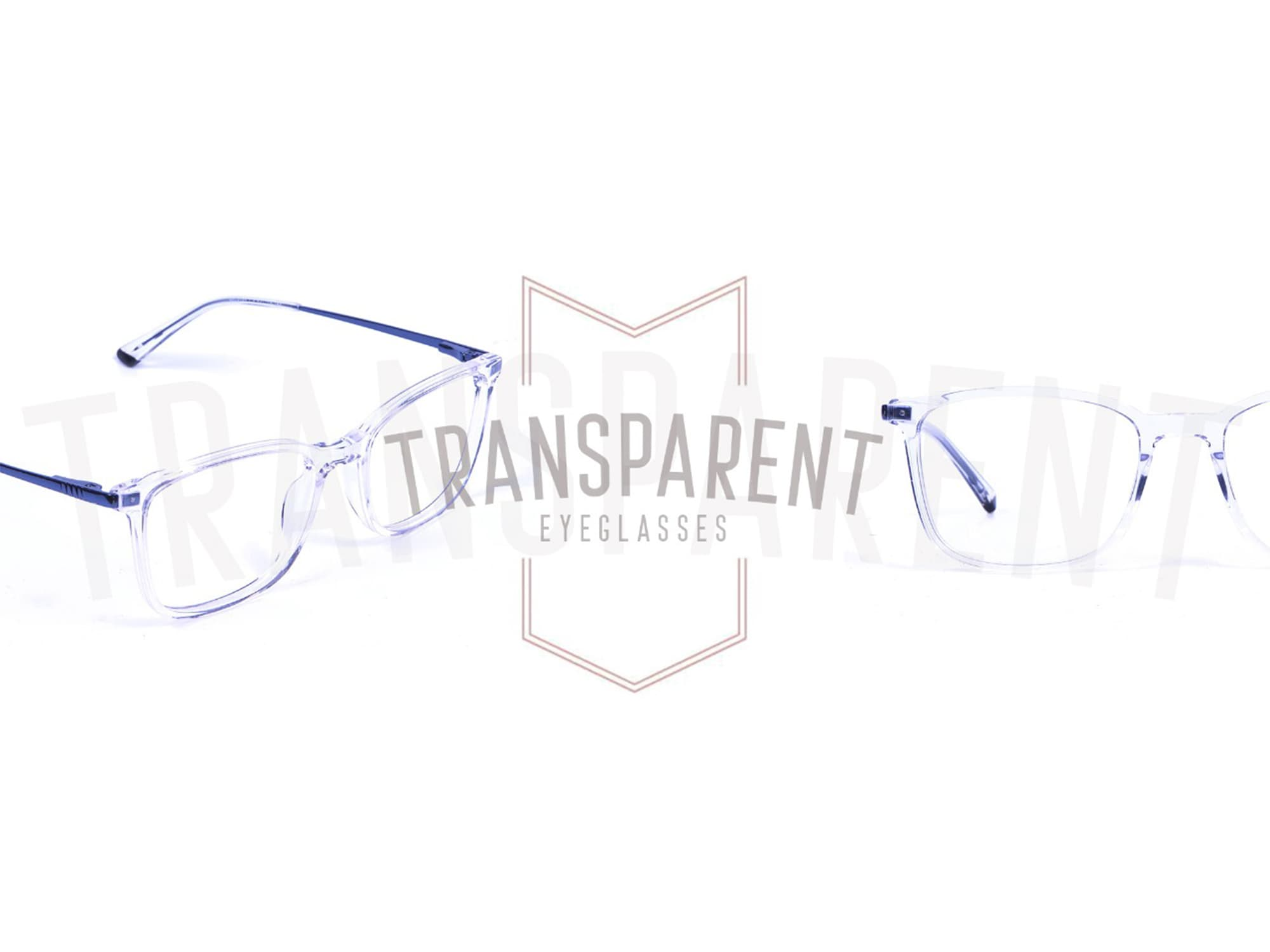 A New Trend of Subtle - Crystal Clear Glasses Frame